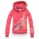 Abercrombie & Fitch Down Pullover Womens Hoody Pink