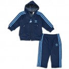 adidas Originals Hooded Flock Track Suit