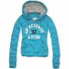 Abercrombie & Fitch Down Womens Pullover Hoody Sky