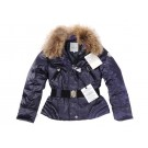 Moncler Fashion Women Jackets Fur Down