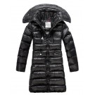 Moncler Long Hooded Women Down Jackets