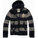 Abercrombie & Fitch Mens Sweater with Horizontal Stripe 045
