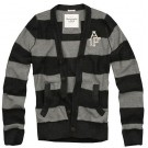 Abercrombie & Fitch Mens Sweaters with Horizontal Stripe 11011